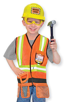 CONSTRUCTION WORKER TOOLS MELISSA AND DOUG BOYS FANCY ...