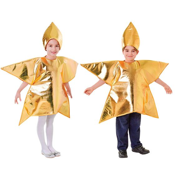 sc 1 st  JABTek & GOLD STAR CHILDRENS NATIVITY FANCY DRESS COSTUME