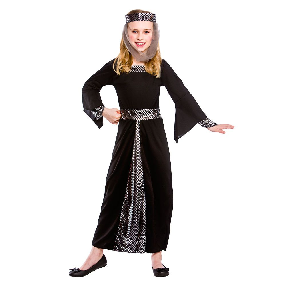 BLUE REGAL TUDOR PRINCESS FANCY DRESS COSTUME